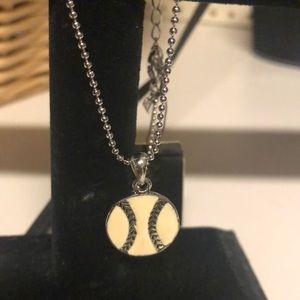 Cookie Lee softball custom necklace